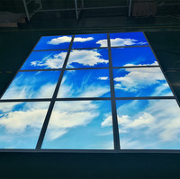 Blue sky decorate 2*2 40W square led panel light led blue sky ceiling light panel