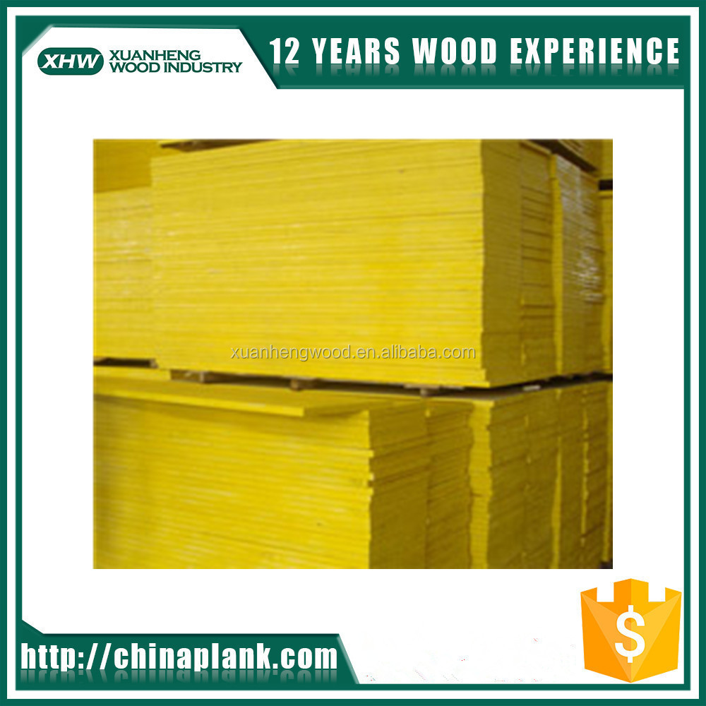 Yellow Chinese fir cheapest price Factory direct lvl wood 3 ply shuttering panel