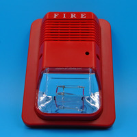 Fire Audible And Visual Alarm DC24V/12V Separate Power input