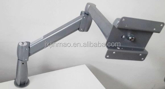 office furniture in office desk LCD monitor arm adjustable lcd led monitor arms 360 Degree