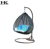 Outdoor rattan hanging swing chair hammocks swing egg chair