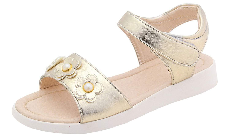 113C Liliana Girls Sandal with a 1.5 Cuban Heel in Silver /& Glitter Girls Sizes 11-13
