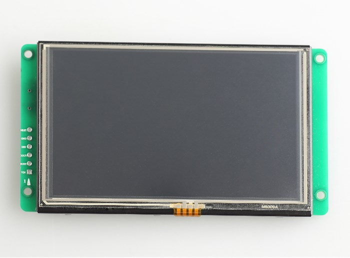 Advanced type 5 inch lcd monitor with touch screen tft