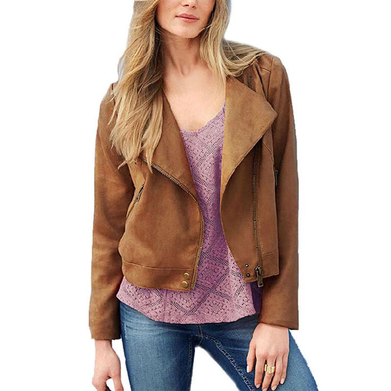 Топы пальто женщин 2015 осень весна короткая куртки молнии тонкий верхняя одежда кисточкой открыть стежка длинный рукав куртки женщин хаки