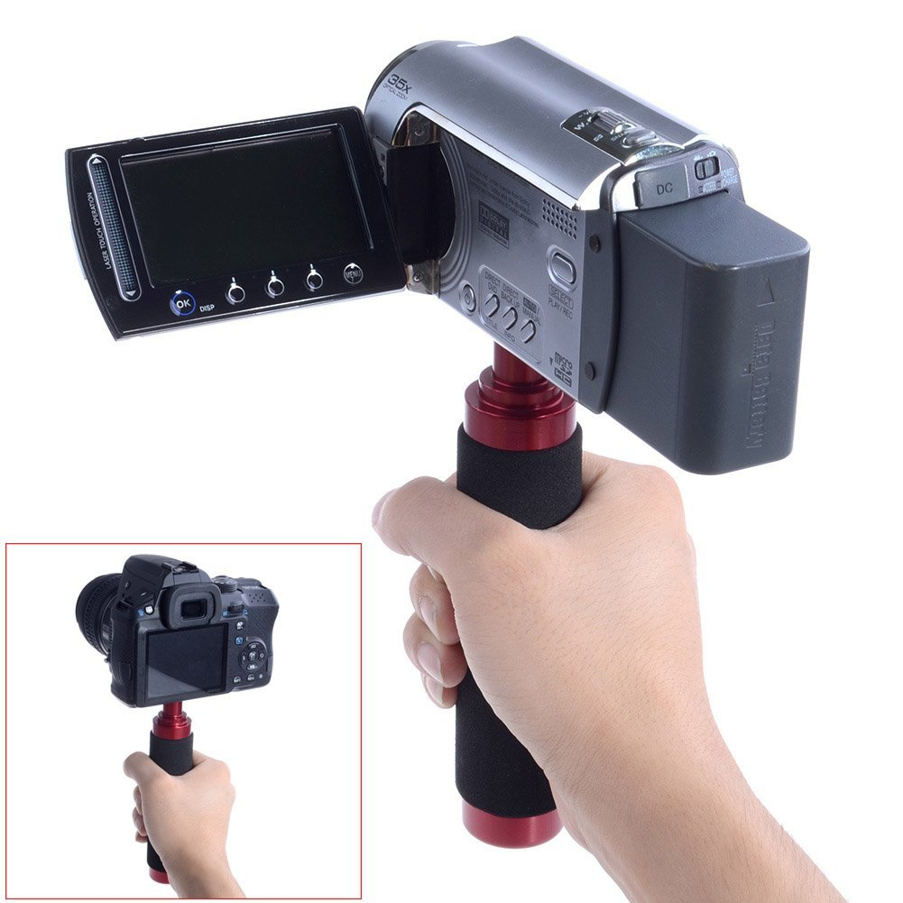Neewer Heavy-Duty Aluminum Hand Grip Handheld Stabilization System Handle Stabilizer for DSLR and Video Cameras