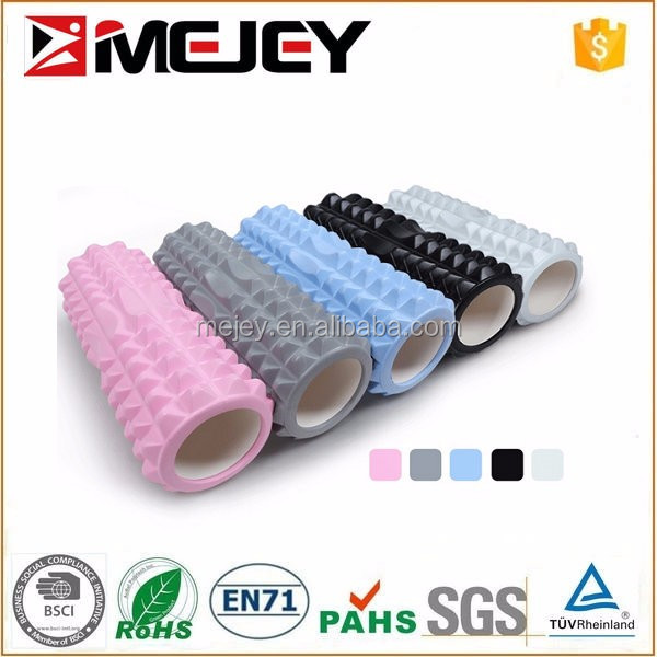 Mixed size and color injection molding EVA Grid Foam Roller