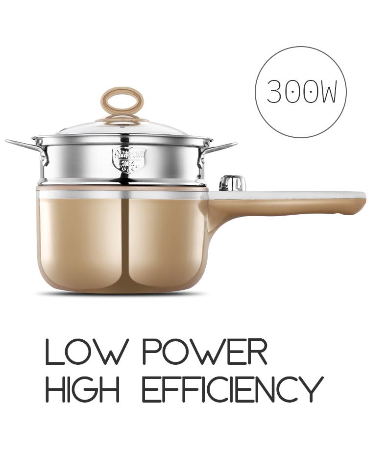 Hohe qualität Multi-funktion haushalt kochen topf 220V mini elektrische bratpfanne