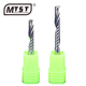 MTST 4mm Single flute end mill cnc engraver tungsten carbide milling cutter pvc Wood cutter engraving tools