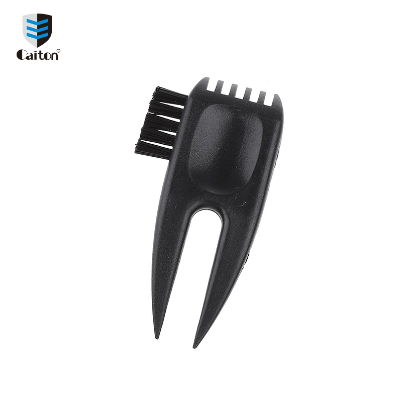 Hot Selling Cheap Golf pitchfork With Club Brush Plastic Golf Divot Tool With Ball Marker