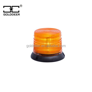 Clear Dome Vehicle LED Strobe Beacon Warning Light (TBD347a-LEDIII)