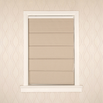 Modern horizontal hand control roller window shades roman blinds blackout