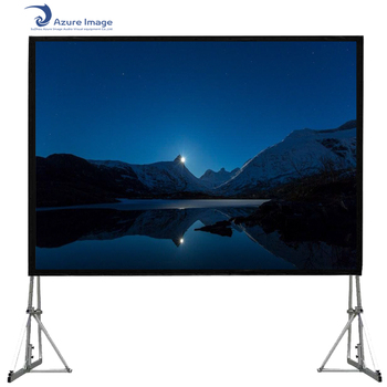 150 Inch 4:3 Format Back Back Rear Projection Fast Fold Projector Screen