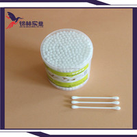 plastic cotton Q-tips for daily use high quality