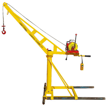 Movable And Safe Small Mini Construction Lift Engine Hoist