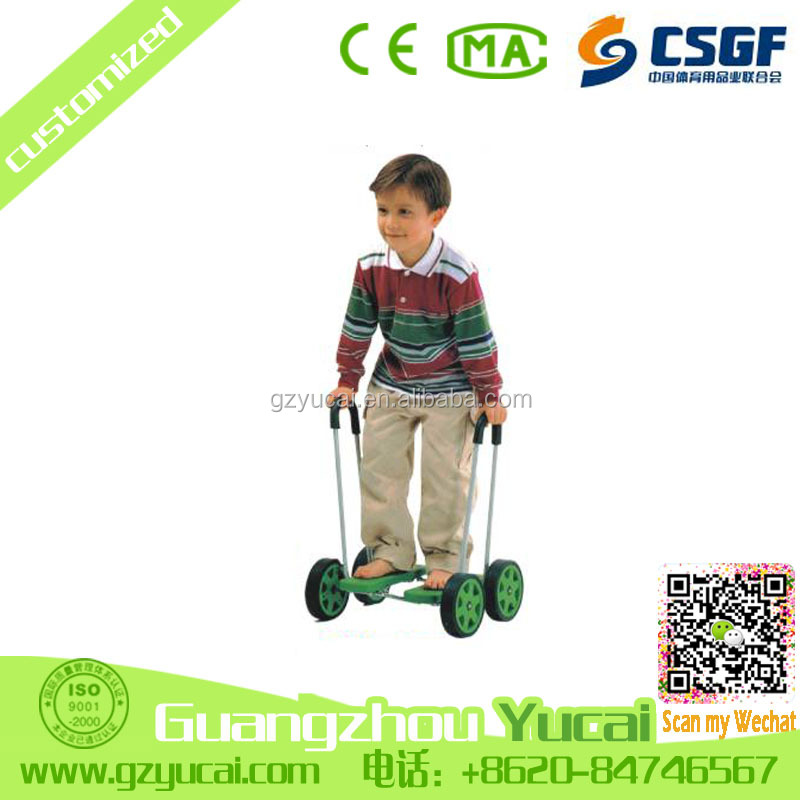 hot sale fun games toys for kids to play smart balance car bike scooter 4 wheels