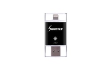 Newest OTG USB Flash Drive 16G-128G Smart Phone Tablet PC OTG U Disk For Apple Iphone 6 Mobile OTG USB Iflash Drive