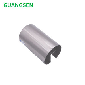 China wholesale stainless steel ss304 pipe slot tube