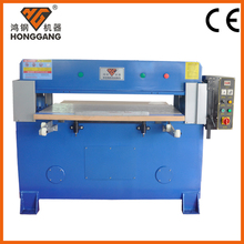Four-pillars hydraulic clicker press cutting machine