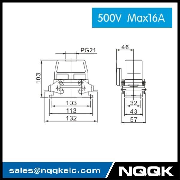 2 500V 16 pin Industrial rectangular waterproof plug socket set general hearvy duct conntctors.jpg