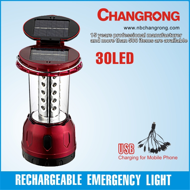 battery operated led solar lantern