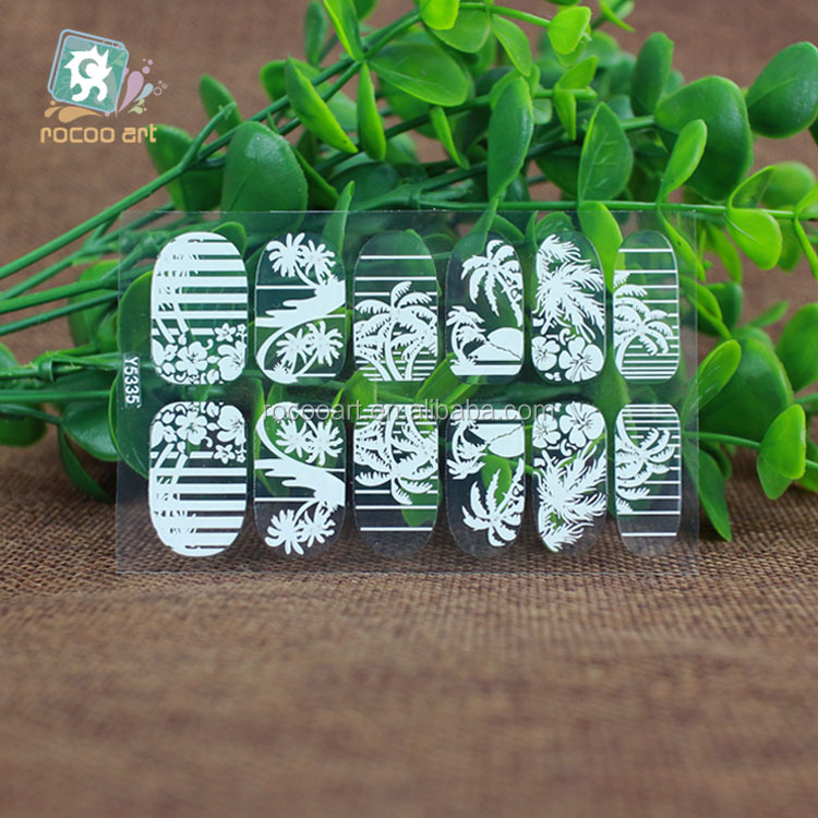 Y5335/Latest Nail product,3D Nail Sticker,Fashion Crystal 3D Nail Art