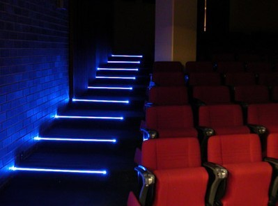 Cinema Step Light Stair Nose Theater Lighting With Led
