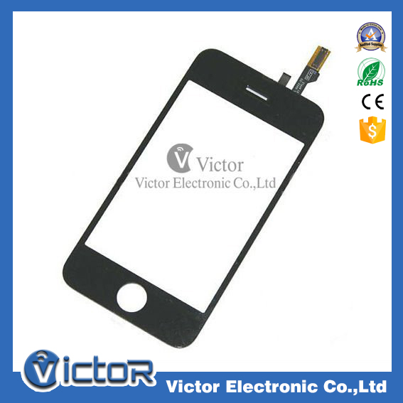 Replacement original front outer glass touch screen for iPhone 3G, top quality digitizer screen