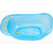 Chinese colorful cute large plastic bathtub for baby