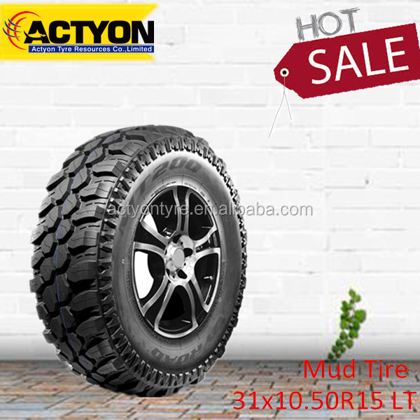 Auto tyre Joyroad China brands MT200 31x10.50R15 LT