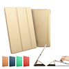 New Arrvial Auto Sleep Flip Leather Case For Ipad Silicon Case, For Ipad Air 2 Smart Cover