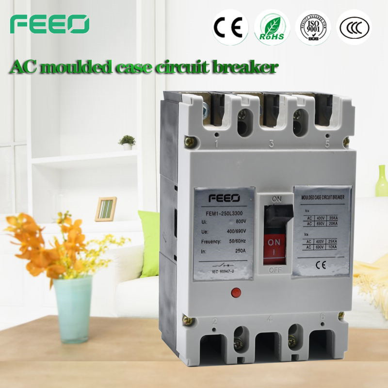 Hot New Products 125a 3p circuit breaker mccb 1250a 3p circuit breaker molded case 1250a 4p breaker mccb for pv solar system