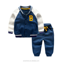 2017 wholesale child clothing, latest design child clothes,branded children clothing B word sets
