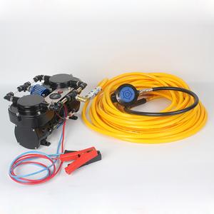 12V Mini Scuba Diving Pump  Hookah Diving Small Diving Compressor
