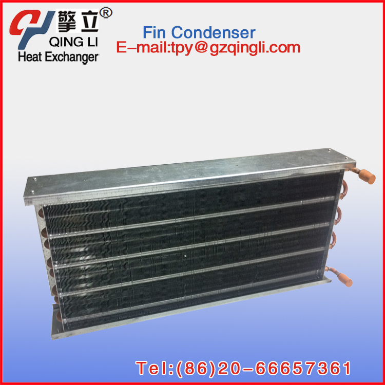 Factory directly air heat exchanger aluminum fin condenser for air chiller
