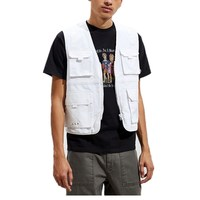 Wholesale mens utility vest cargo workwear summer spring fishing vest for men