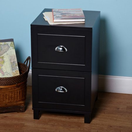 Get Quotations · Bradley 2 Drawer Filing Cabinet, 2 Drawers For  Letter Sized Files