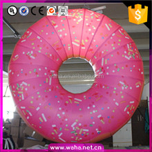 Hanging Way Inflatable Doughnuts New Year Christmas Decoration Inflatable