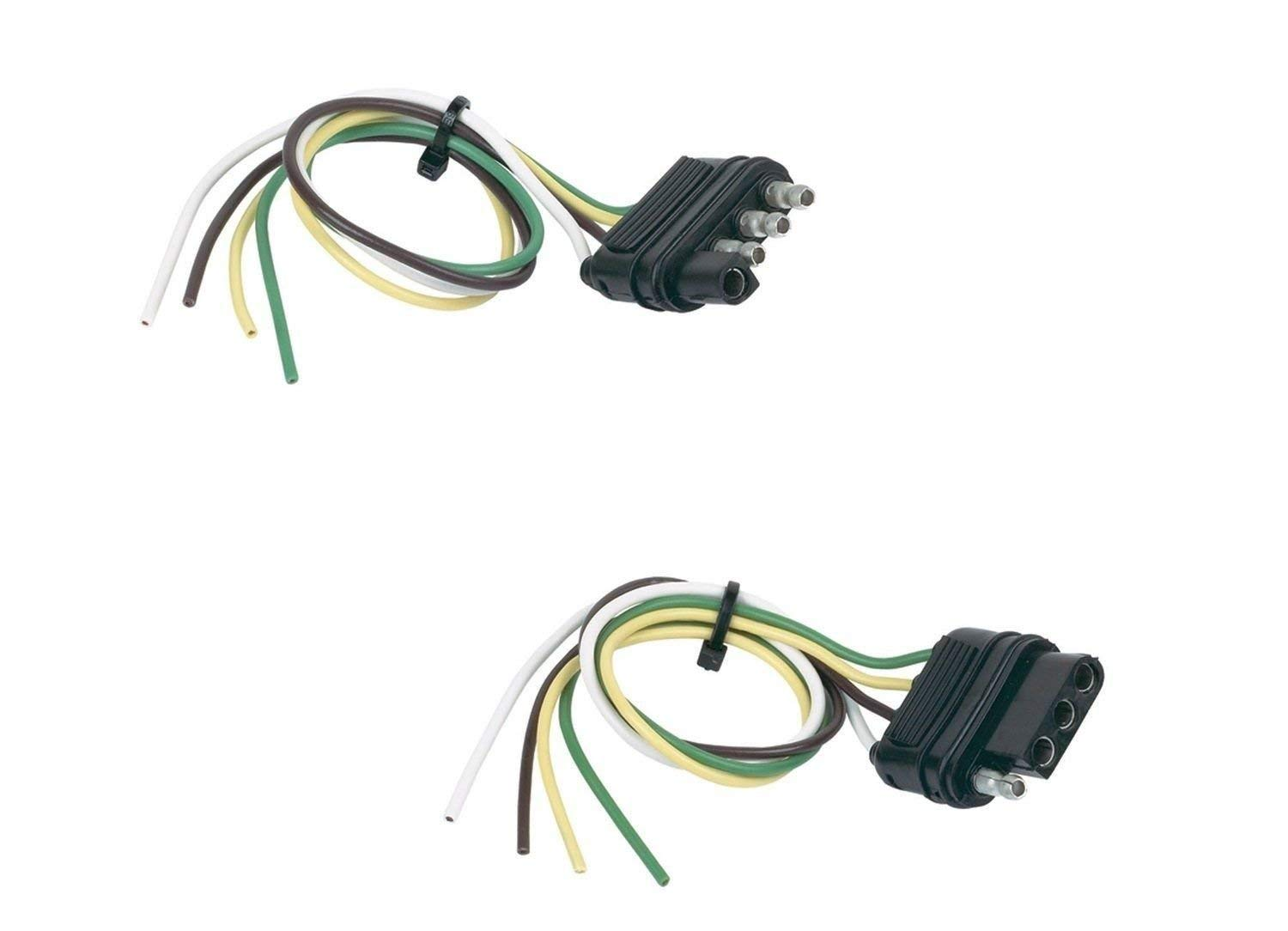 Cheap 7 Flat Trailer Wiring Find Deals On Cable Get Quotations Hopkins 48175 Basic Solution 4 Wire Vehicle Side