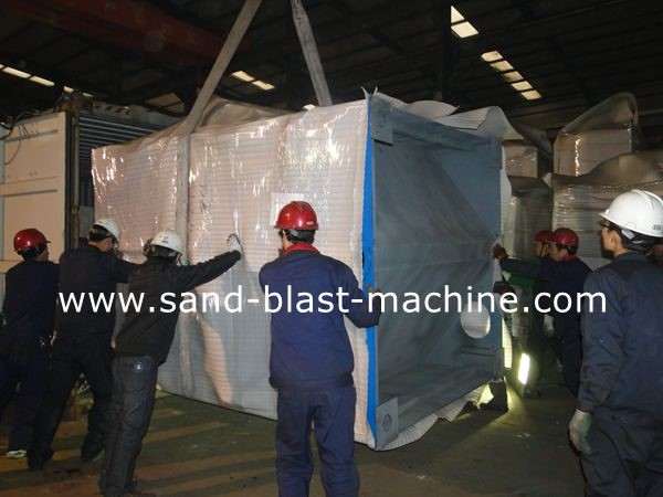 Steel Shot blasting equipment,sand shot blast cleaning machine