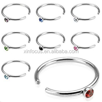 Fake Hoop Nose Ring Jeweled Nose Piercing Buy Fake Hoop Nose Ring Non Piercing Nose Ring Fake Nose Piercing Product On Alibaba Com