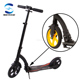 Easy Ride 230mm PU Wheels Folding Kick Scooter with Wide Deck 230mm kick scooter with wide deck