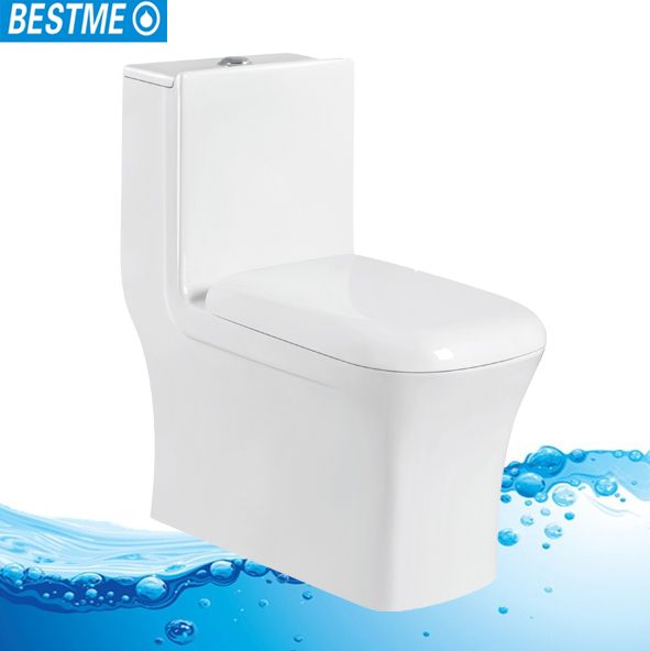 BESTME siphon toilet with water tank ceramic one piece toilet