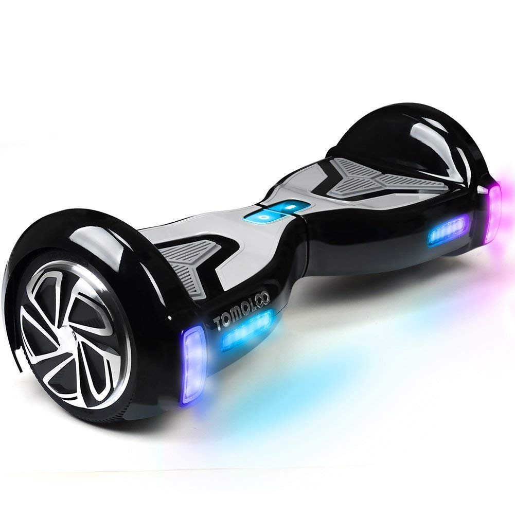 "TOMOLOO Hoverboard App LED Lights Two-Wheel Bluetooth Self Balancing Scooter UL2272 Certified, 6.5""/8.5"" Wheel Electric Scooter Kids Adult"