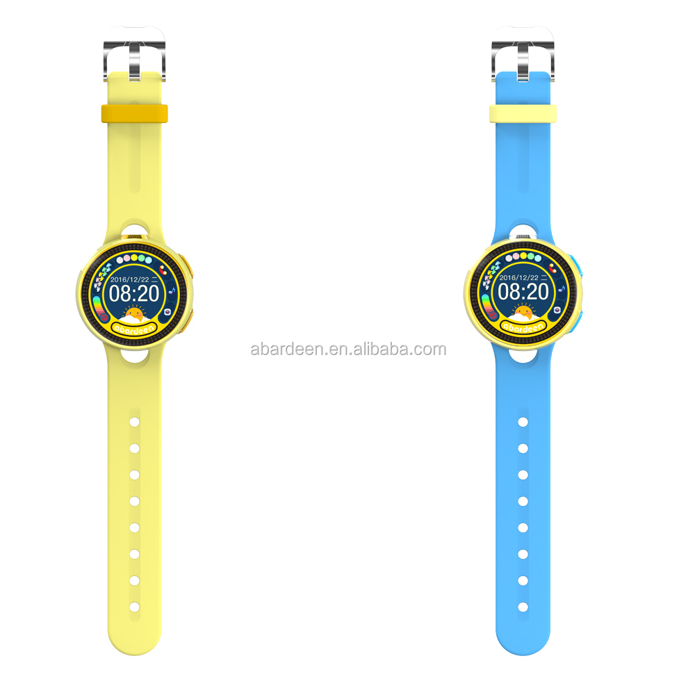 Round Touch Screen GPS Tracking Smart Watch for Kids