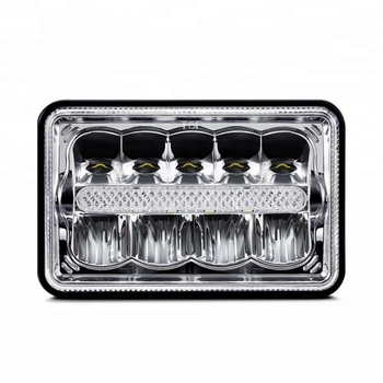 DOT approval 4x6 led headlight / 5x7 inch square led headlamp sealed beam for car offroad truck