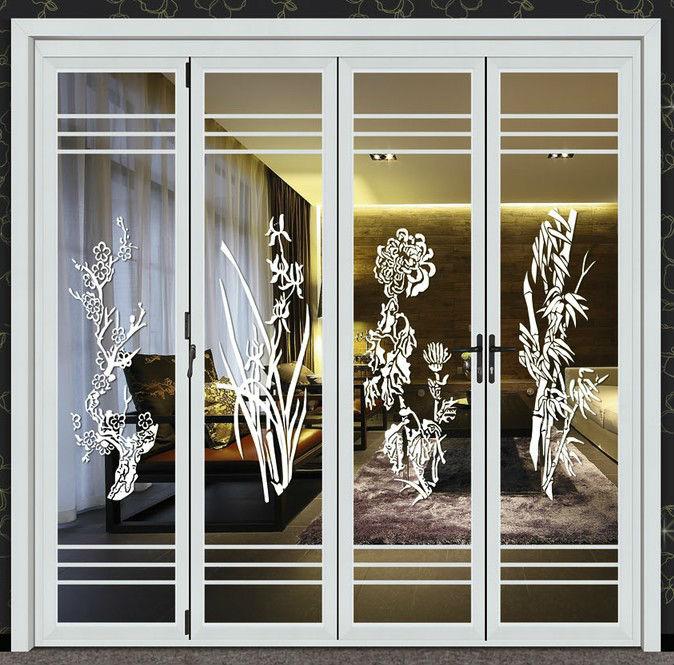 De aluminio de acorde n puertas plegables para puertas - Modelos de puertas de aluminio para exterior ...