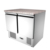 SS304 0.9m Refrigerated Salad Bar Restaurant Equipment Making Salad Work Bench Customizable