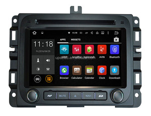 Android 5.1 7.1 Car DVD Dodge RAM1500(2014-) Car Radio GPS Navigation Car Stereo Headunit Tape Recorder