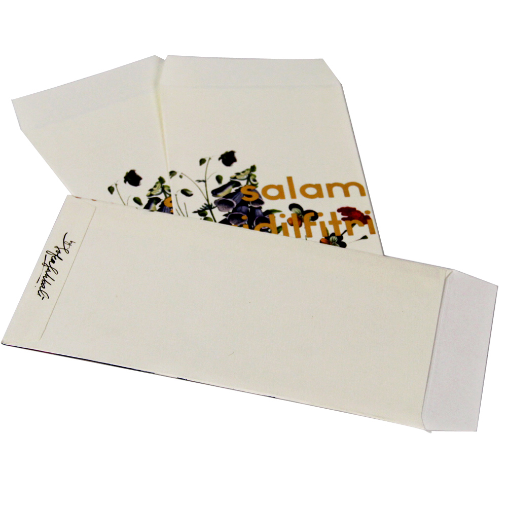 Best Quality Art Paper Blank Business Envelope Printing