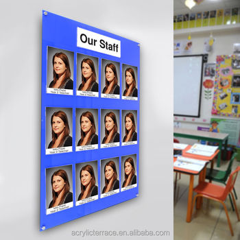Acrylic Perspex A5 Pocket Staff Photo Board - Customise - Buy Photo Frame  Bulletin Board,Standard Photo Board,Multi Picture Board Product on